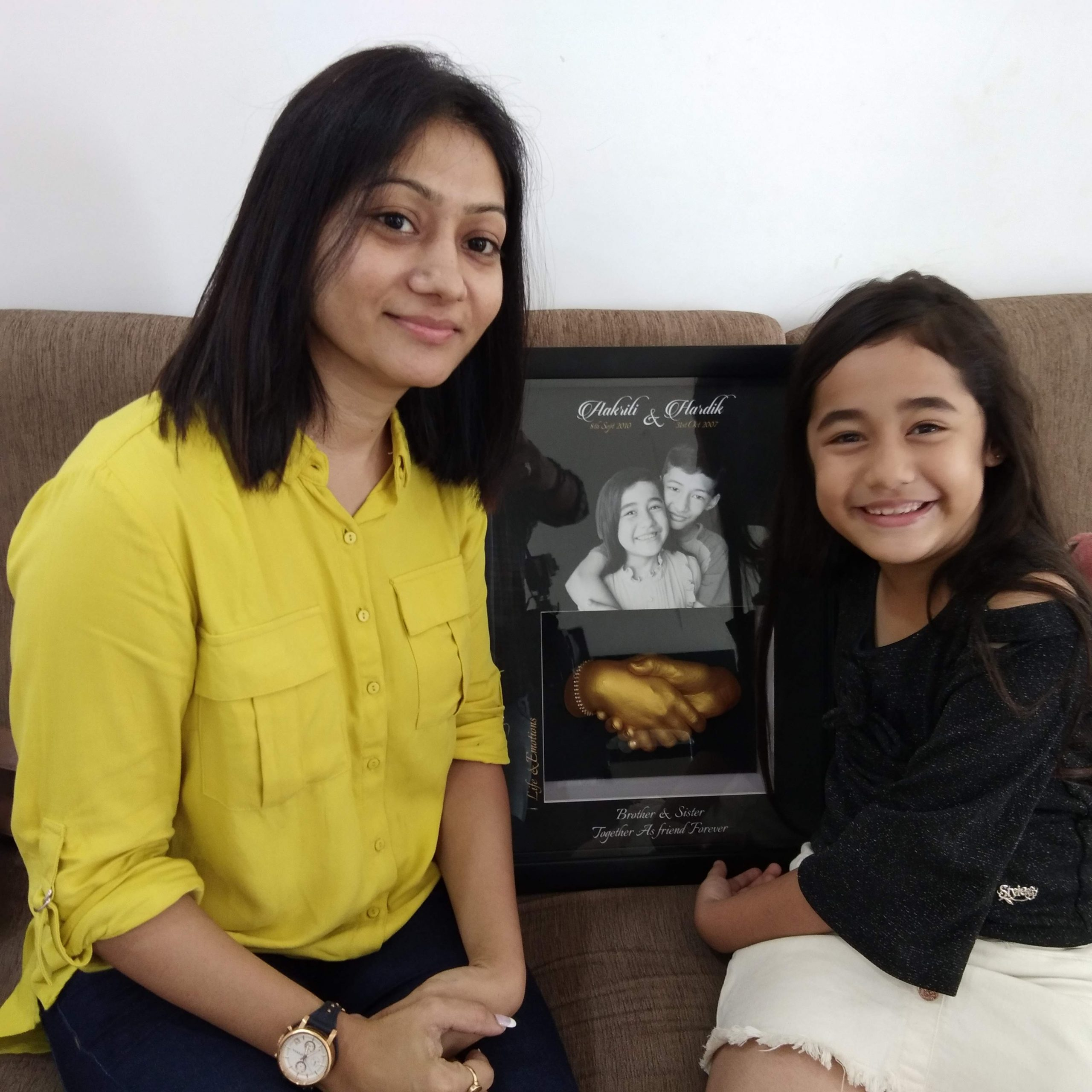 Raksha Bandhan Gift by Aakriti Sharma for her Brother
